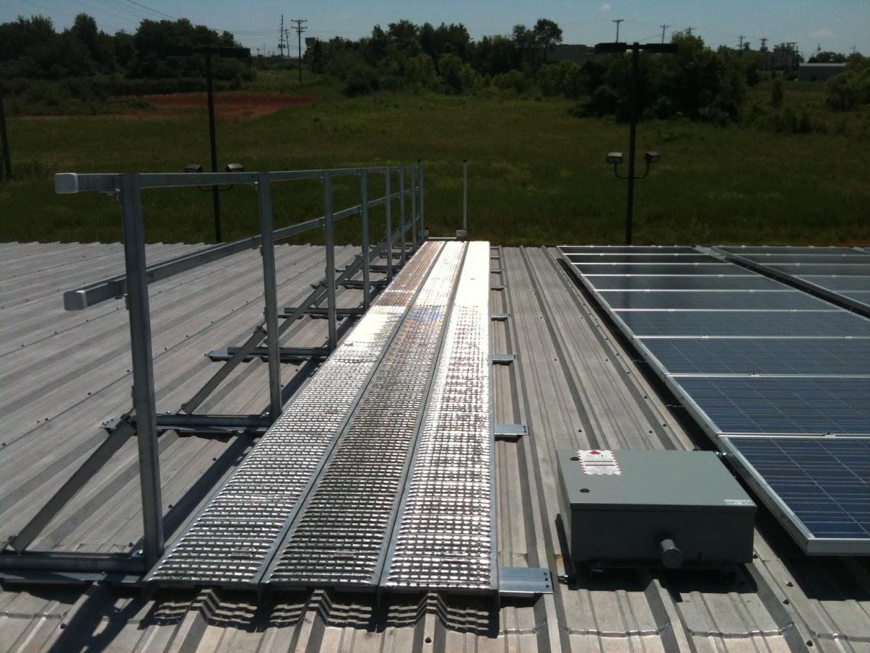 Roofwalk Rooftop Engineered Walkway Systems Unistrut