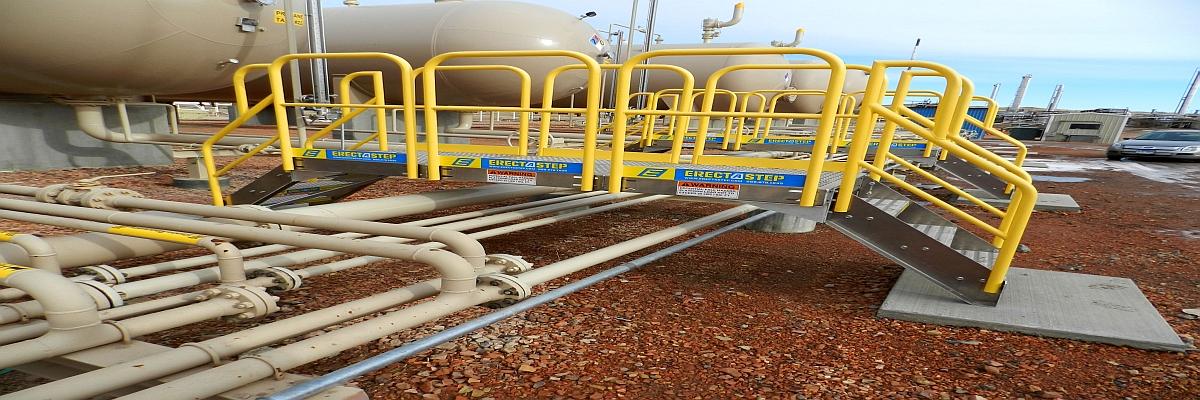 ErectAStep Gas Line Crossover