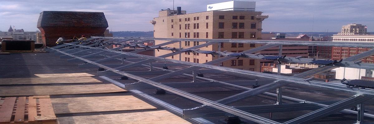 Unistrut Solar Support