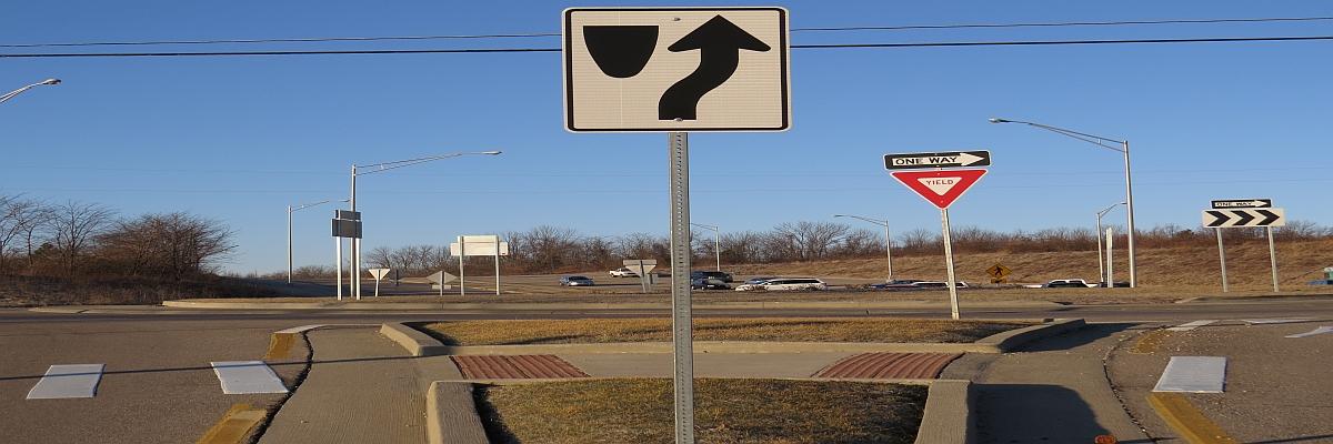 Telescopic Sign Posts