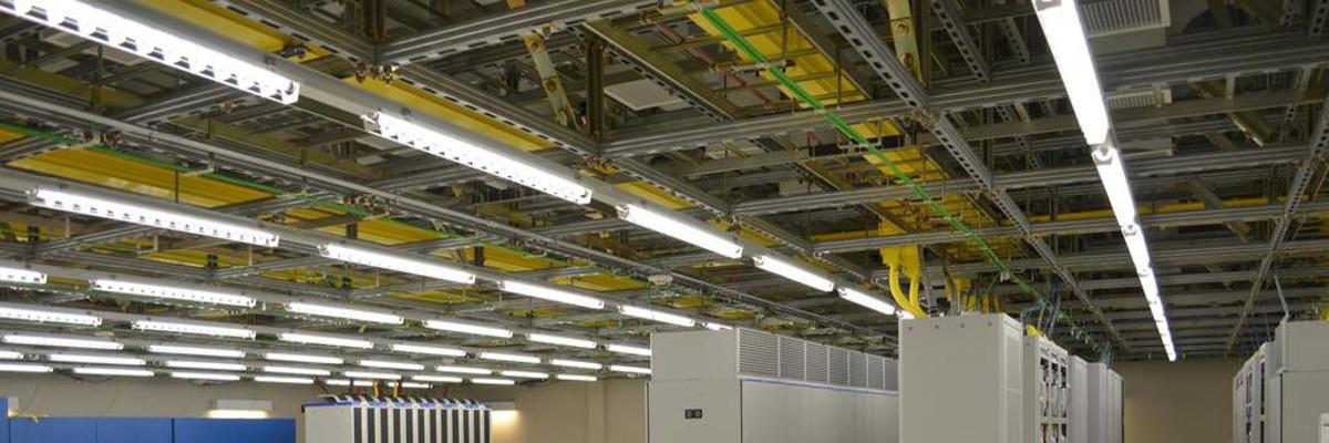 Unistrut Ceiling Grid for Data Center